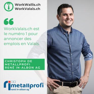 WorkValais testimonial metallprofi